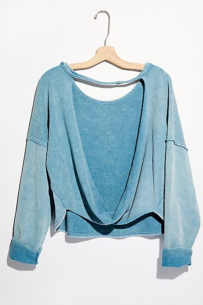 "Free People Pullover ""See You Tonight"""