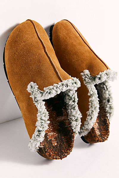 "Free People Slippers ""Damon Cozy Mules"""