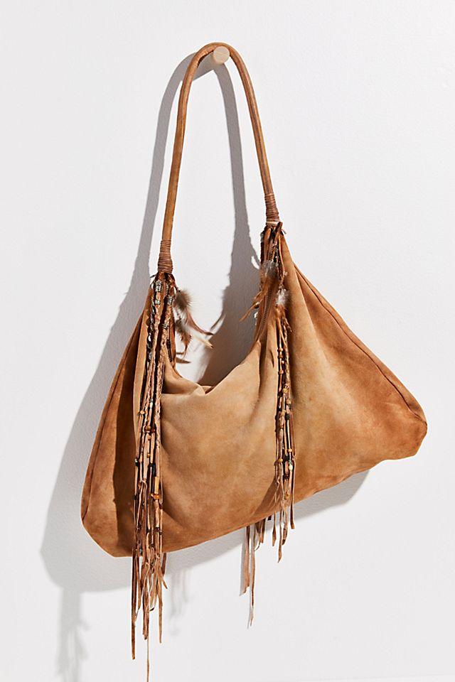 "Brenda Knight Embellished Hobo Bag ""Mirage"""