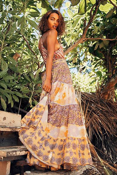 """Carolina K Maxi Skirt """"Catalina"""""""