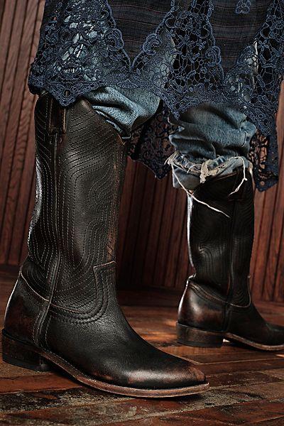 "Frye Boots ""Billy Stitch"""