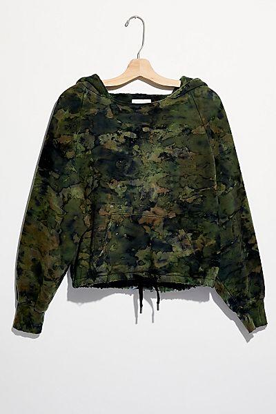 Vintage Souls Camo Hoodie Sweatshirt