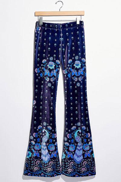"""Flare Street Pants """"Blue Amalia"""""""