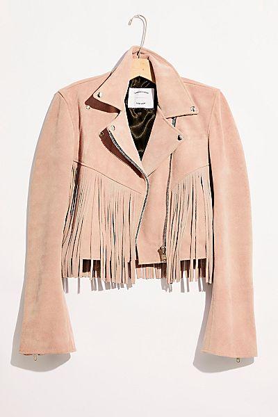 """Understated Leather Jacket """"Fringe Mercy"""""""
