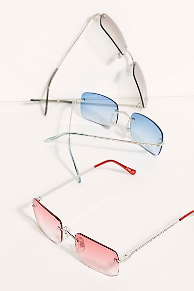 "Vintage Square Sunglasses ""Ashley"""