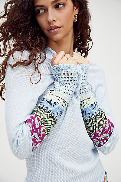 """Free People Top """"In The Mix"""""""