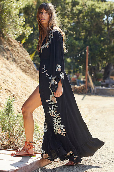 "Fillyboo Maxi Dress ""Enchanted Duster"""