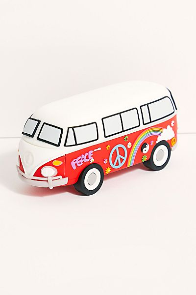 "Smartphone Power Bank Charger ""Hippie Van"""