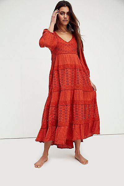 "Free People Maxi Dress ""Mockingbird"""