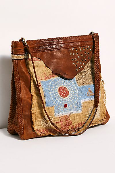 "Enshalla Tote Bag ""Patchwork"""