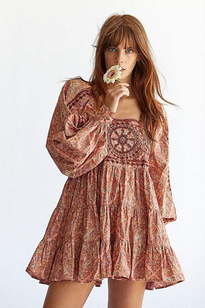 """Free People Mini Dress """"Le Marais Tunic"""""""