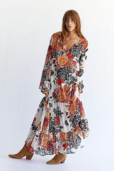 """Free People Maxi Dress """"Moroccan"""""""