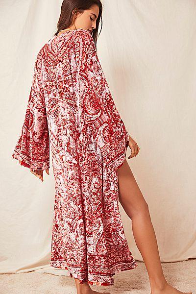 "Free People Bohemian Kimono Robe ""Enchanted"""