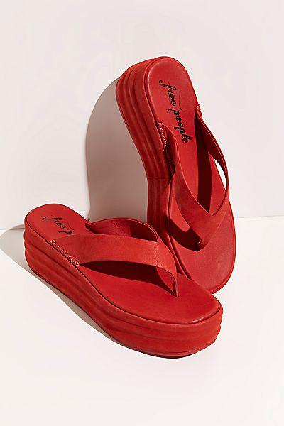"""Free People Platform Sandals """"Haven Flip Flops"""""""