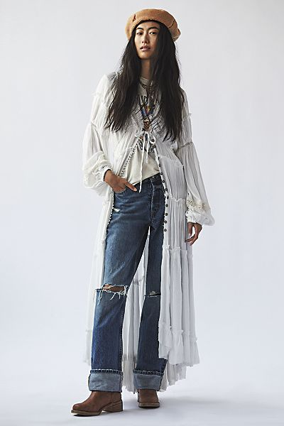 """Free People Maxi Dress """"Cassis"""""""
