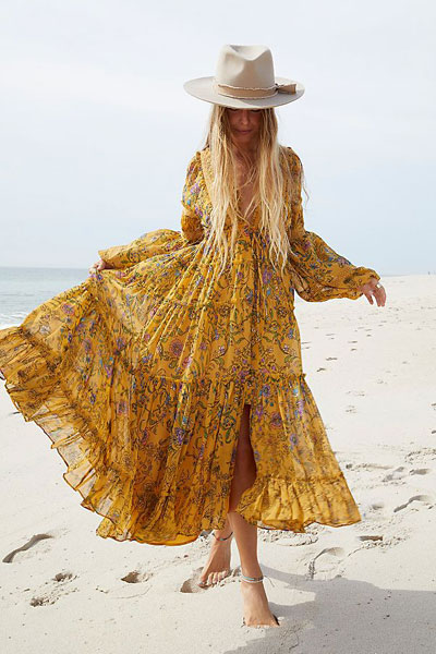 "Free People Maxi Dress ""Cassis"""