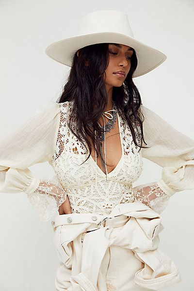 """Free People Lace Top """"Sorelle"""""""