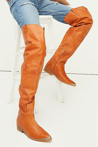 """Free People Thigh High Boots """"Austyn"""""""