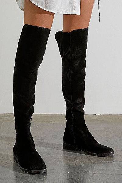 "Free People Over-the-Knee Boots ""Carson"""