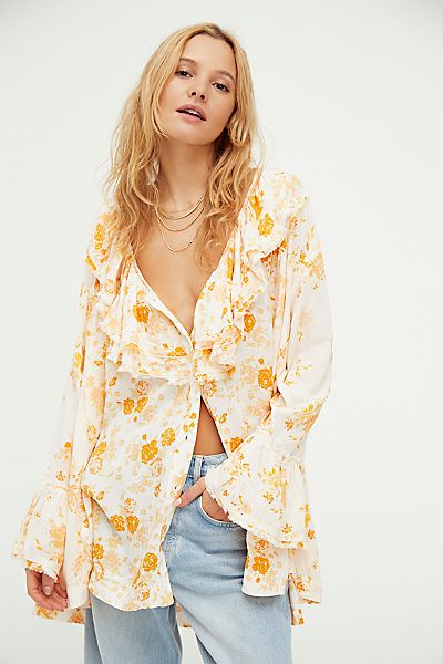 "Free People Top ""Loretta Tunic"""