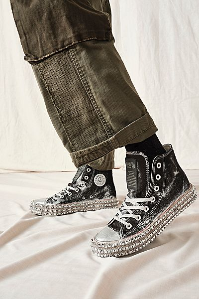 "Nan-ku High Top Sneakers ""Cruise Studded"""