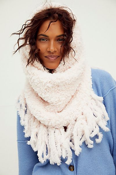 Free People Fringe Cowl Neck Scarf