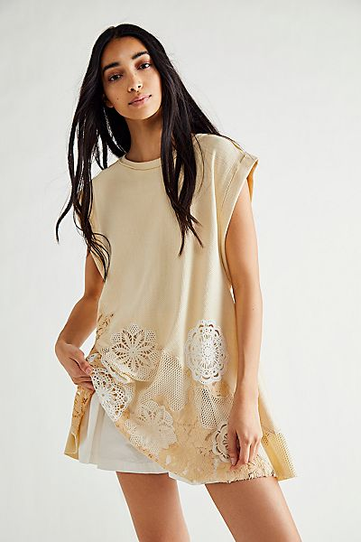 "Free People Tunic Dress ""Made To Love"""