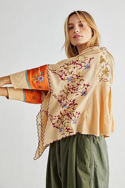 """Free People Boho Top """"Waiting On A Sunny Day"""""""