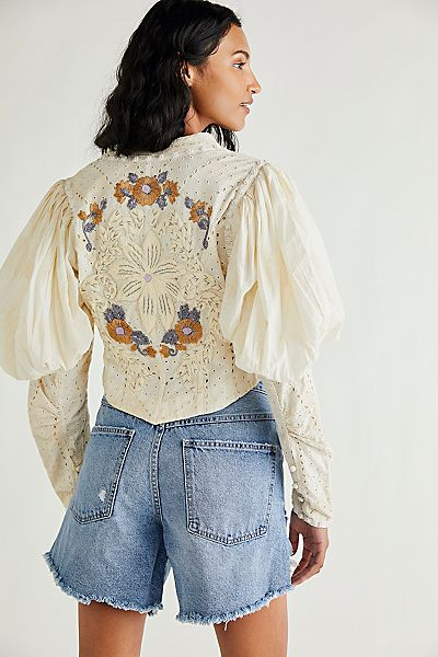 "Free People Jacket ""Romantic Revival"""