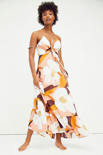 "Antik Batik Maxi Dress ""Miami Sundress"""