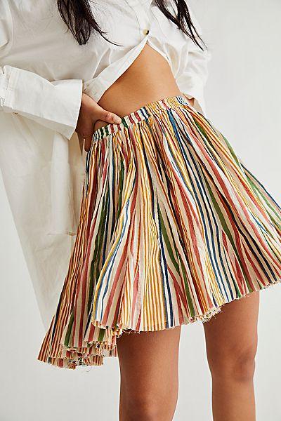 """Free People Mini Skirt """"Fawn"""""""