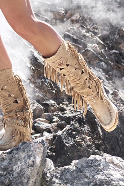 """El Vaquero Moccassin Boots """"Peace Valley"""""""