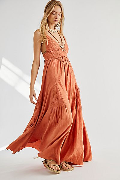 "Free People Maxi Dress ""Heat Haze"""