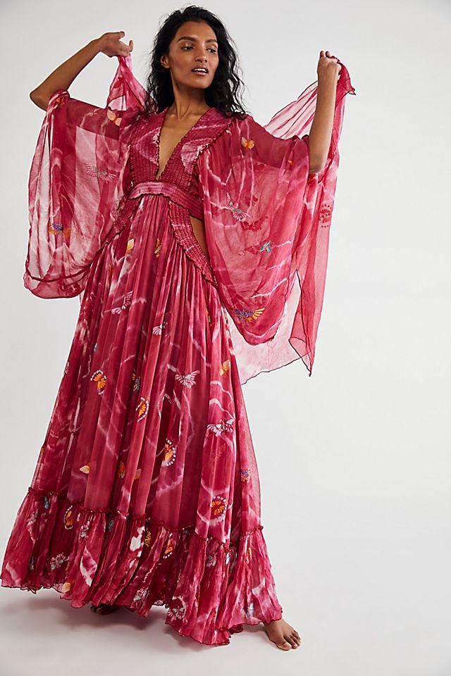 """Fillyboo Maxi Dress """"Madam Butterfly"""""""