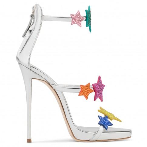 Giuseppe Zanotti Women Sandals HARMONY STAR Multicolored