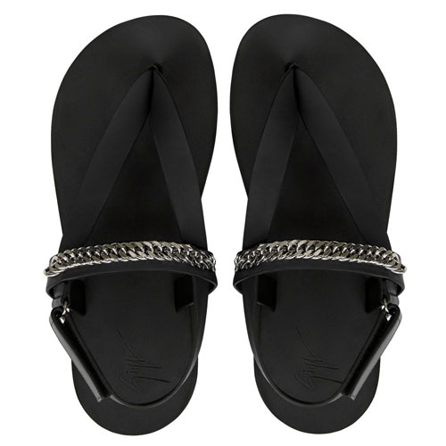 "Giuseppe Zanotti Men's Sandals ""Hydra Chain"""