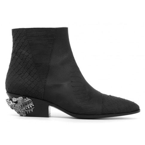 "Giuseppe Zanotti Men's Boots ""Kevan Alligator"""