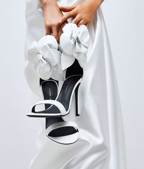 "Giuseppe Zanotti Sandals ""Siuxsie Bridal Shoes"""