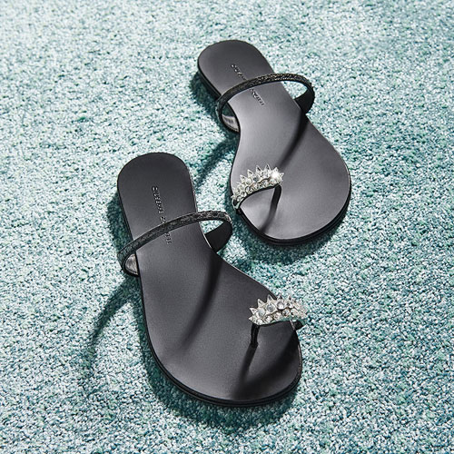 "Giuseppe Zanotti Women's Flat Sandals ""Jayda"""