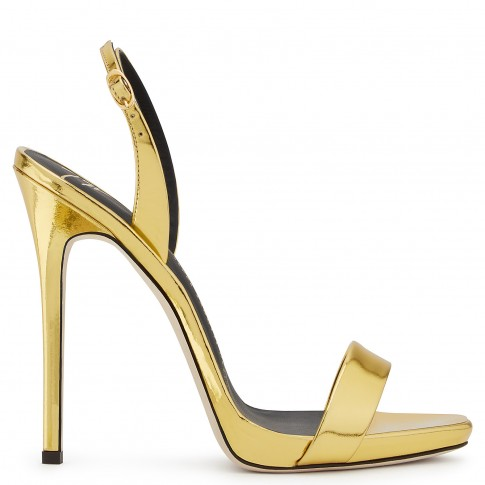 Giuseppe Zanotti Women Sandals SOPHIE Mirrored Gold