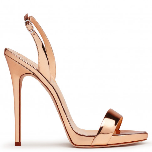 Giuseppe Zanotti Women Sandals SOPHIE Metallic Rose Gold