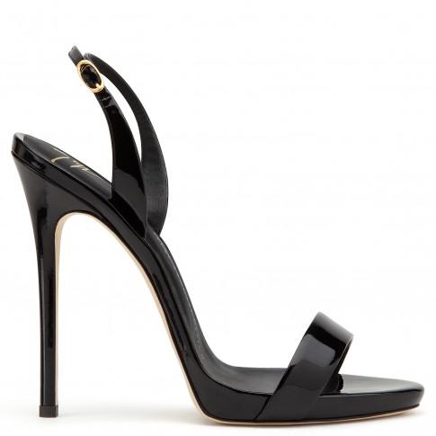 Giuseppe Zanotti Women Sandals SOPHIE Black Patent