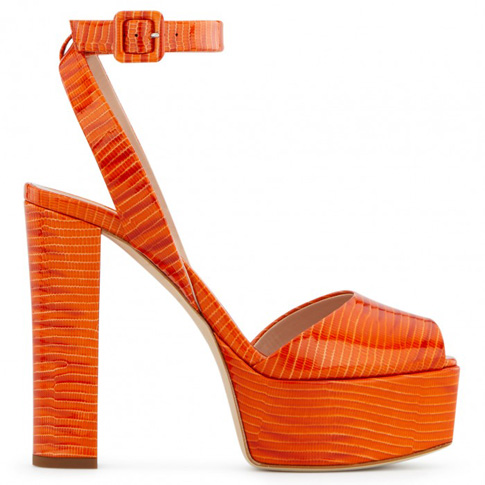 "Giuseppe Zanotti Sandals ""Orange Betty"""