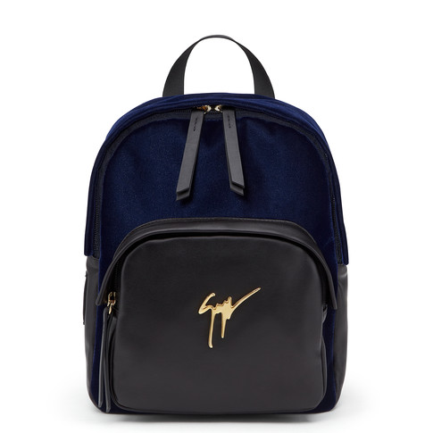 Giuseppe Zanotti Backpacks KATY Dark Blue