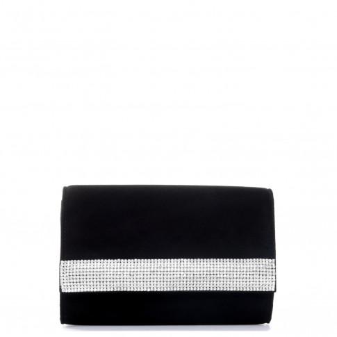 Giuseppe Zanotti Clutches DESIRE' Black With Swarovski Bag