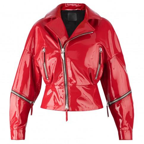 """Giuseppe Zanotti Women's Leather Jacket """"AUTUMN"""""""