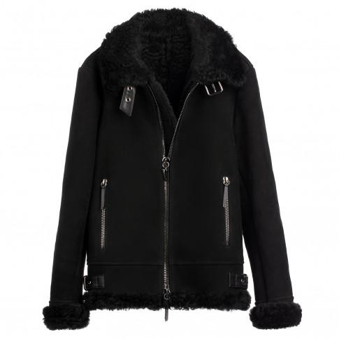 02409629367e9 Giuseppe Zanotti - ROBIN - Black Ram Men's Jacket | ProShopaholic.com