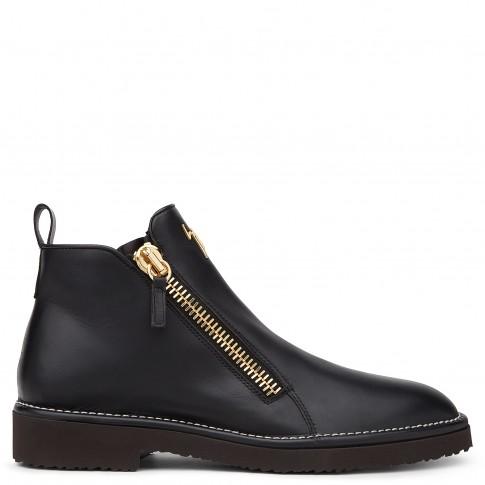 Giuseppe Zanotti Boots AUSTIN Black Leather