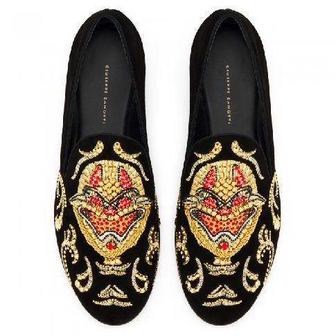 "Giuseppe Zanotti Men's Loafers ""Quin"""