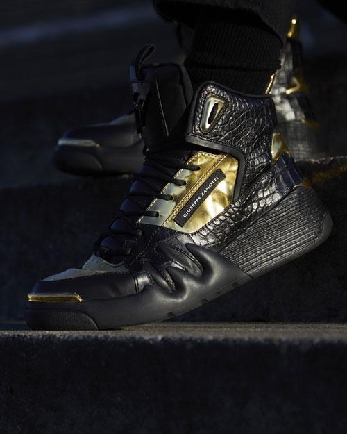 Giuseppe Zanotti Men's Talon Sneakers